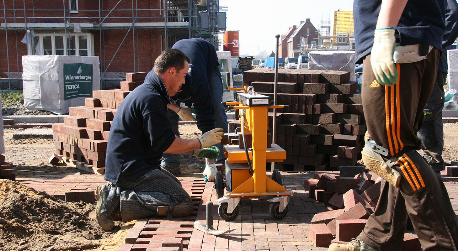 Werken in de bouw Social Return - Ampliar